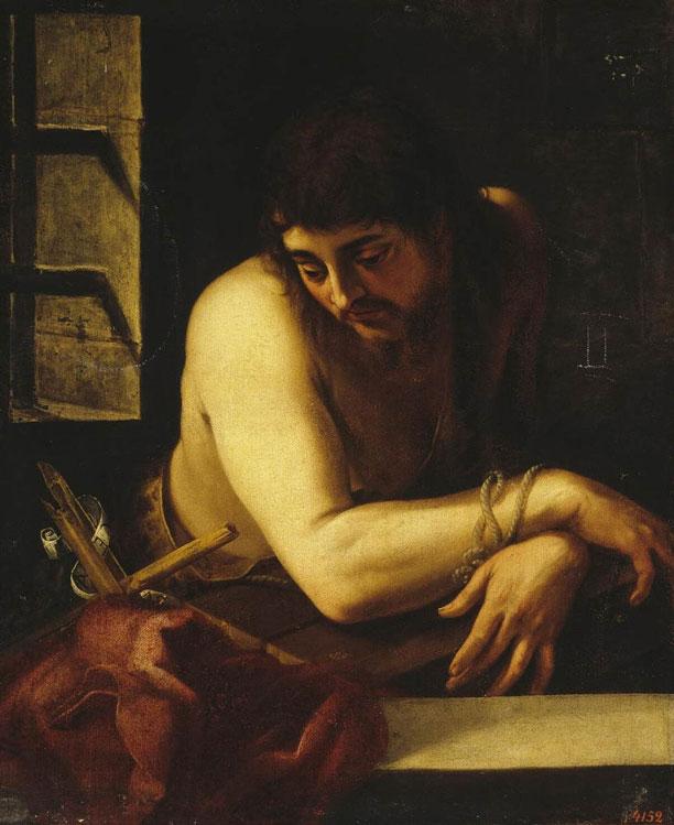 São João Batista na Prisão (Juan Fernández de Navarrete)