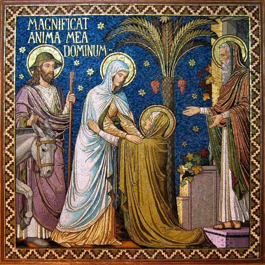 "Magnificat anima mea Dominum - ""A minha alma glorifica o Senhor"""
