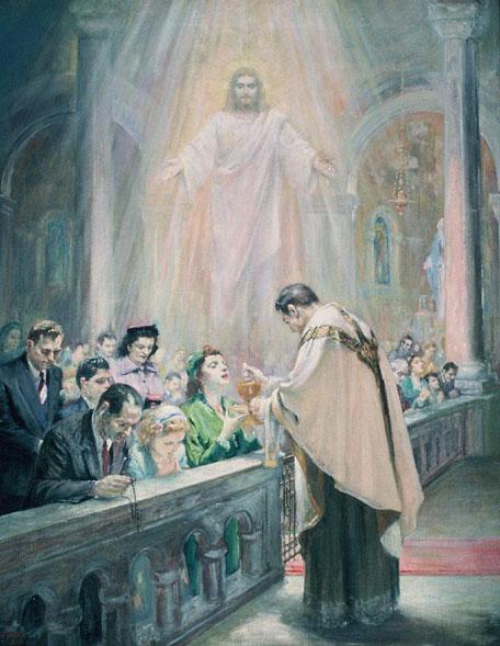 Prática da Santa Comunhão