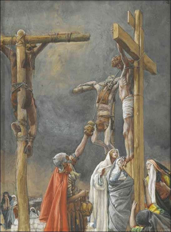 """""""Tenho sede"""" - Paixão de Cristo"""