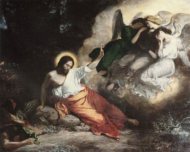 Agonia e oração de Jesus no Horto