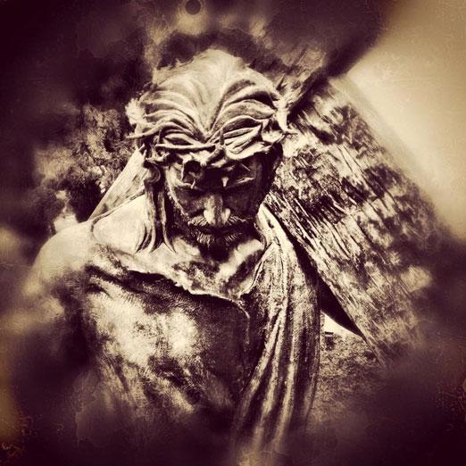 Coração de Jesus, aflito pelo pecado de escândalo