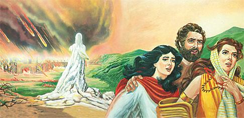 """""""Há muitos penitentes que efetivamente saem do pecado, porém não lhe perdem o afeto; (...) a semelhança da mulher de Ló, que virou a cabeça para Sodoma"""""""