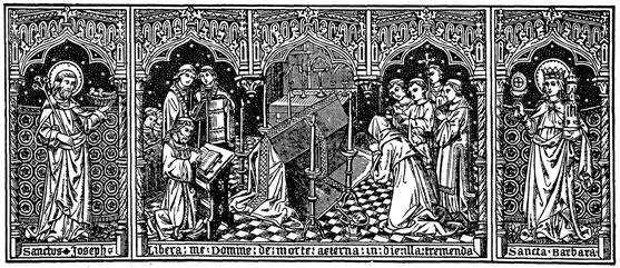 Arte do Missal: Missa Requiem, Ofício dos Mortos