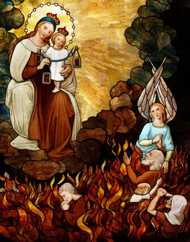 Nossa Senhora do Carmo e as Almas do Purgatório