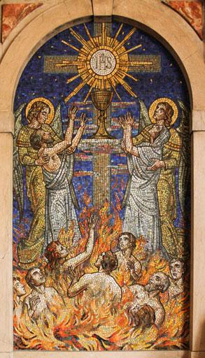 Santa Comunhão e as Almas do Purgatório