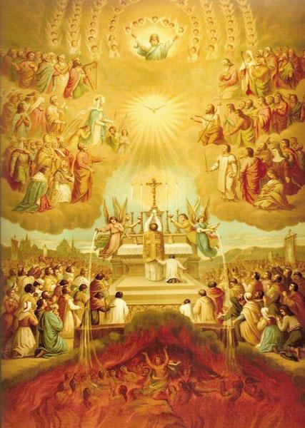 Santa Missa e o Sufrágio pelas Almas do Purgatório