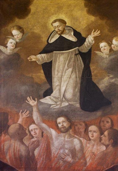 Santo Rosário, uma obra indulgenciada para sufragar as Almas do Purgatório