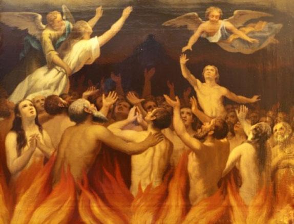 Sofrimento e Penas do Purgatório