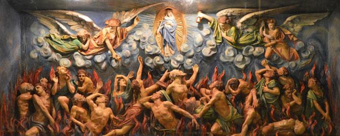 Tormentos e Alegrias das Almas do Purgatório