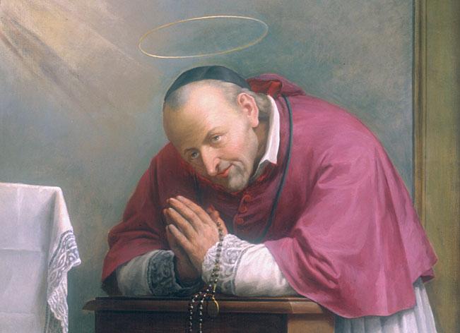 Santo Afonso Maria de Ligório, modelo das Virtudes Fundamentais