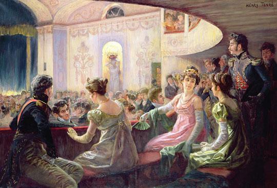 O Teatro, por Henry Tenré