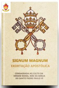 Exortação Apostólica Signum Magnum Consagrada ao Culto da Virgem Maria, Mãe da Igreja