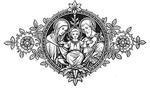 Visitas ao Santíssimo Sacramneto, a Santíssima Virgem Maria e a São José
