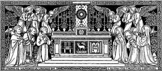 Visitas a Jesus Sacramentado e a Nossa Senhora, por Santo Afonso Maria de Ligório