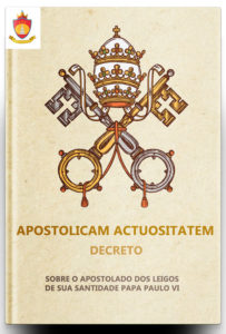 Decreto Apostolicam Actuositatem sobre o Apostolado dos Leigos