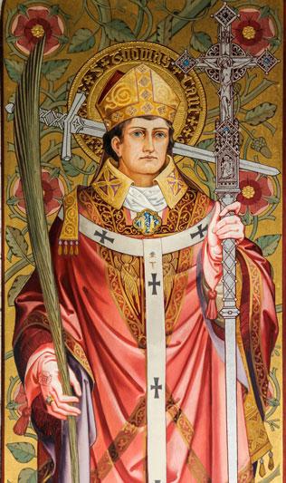 São Tomás Becket, Bispo de Cantuária