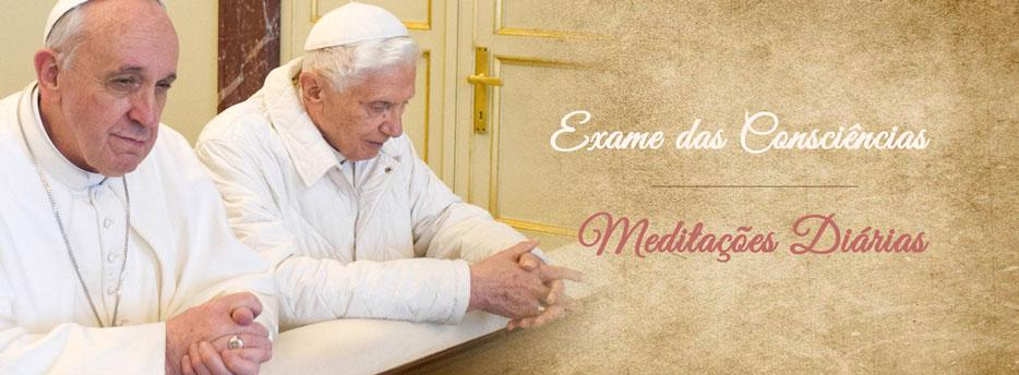 Meditação para a Quarta-feira da 1ª Semana do Advento. Exame das Consciências