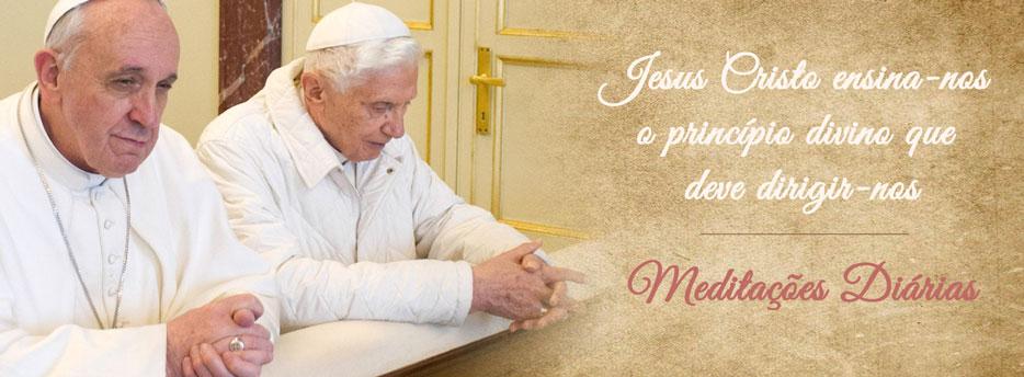 Meditação para a Terça-feira da 2ª Semana depois da Epifania. Jesus Cristo ensina-nos o princípio divino que deve dirigir-nos