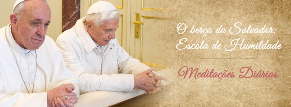 Meditação para a Segunda-feira da 3ª Semana depois da Epifania. O berço do Salvador: Escola de Humildade