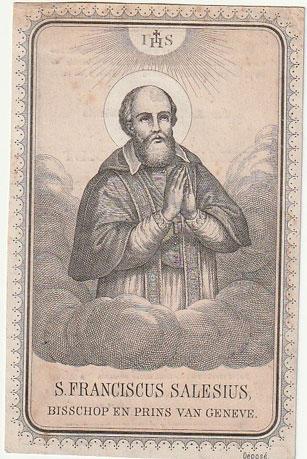 Bispo São Francisco de Sales, santo da mansidão
