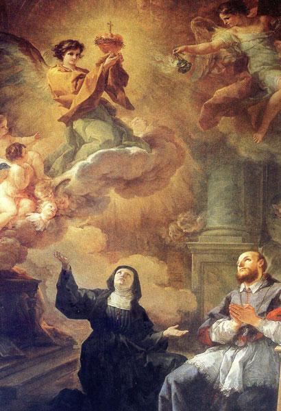 São Francisco de Sales e Santa Joana Francisca de Chantal, rogai por nós!