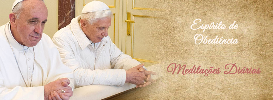 Meditação para a Quinta-feira da 4ª Semana depois da Epifania. Espírito de Obediência