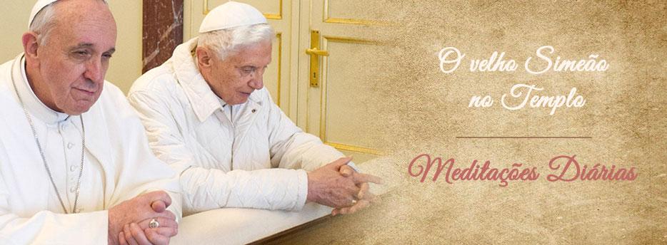 Meditação para o Sábado da 4ª Semana depois da Epifania. O velho Simeão no Templo