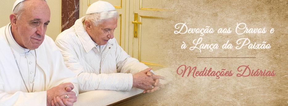 Meditação para a Sexta-feira da Primeira Semana da Quaresma. Devoção aos Cravos e à Lança da Paixão
