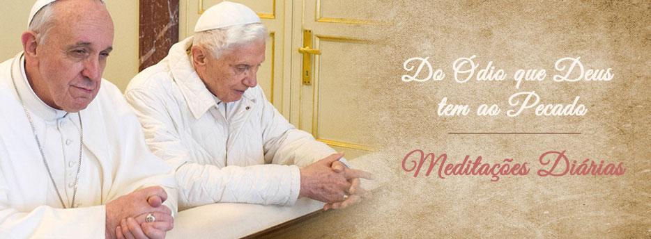 Meditação para a Quinta-feira da Terceira Semana da Quaresma. Do Ódio que Deus tem ao Pecado