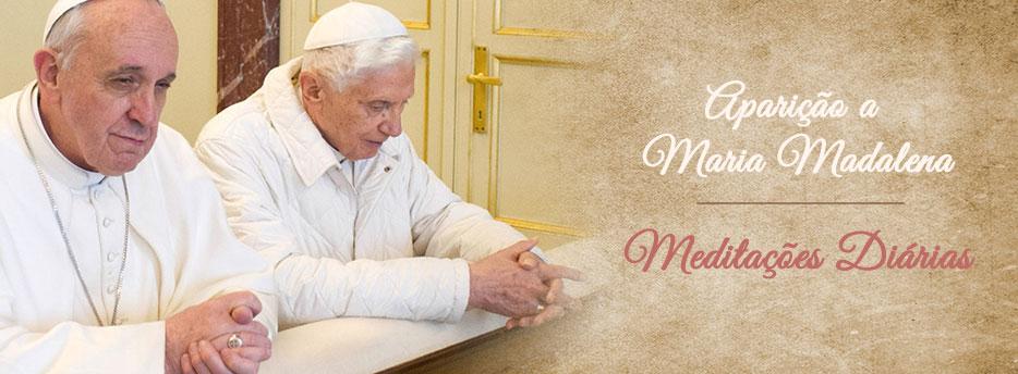Meditação para a Quinta-feira da Páscoa. Aparição a Maria Madalena