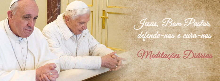Meditação para a Segunda-feira da 2ª Semana depois da Páscoa. Jesus, Bom Pastor, defende-nos e cura-nos