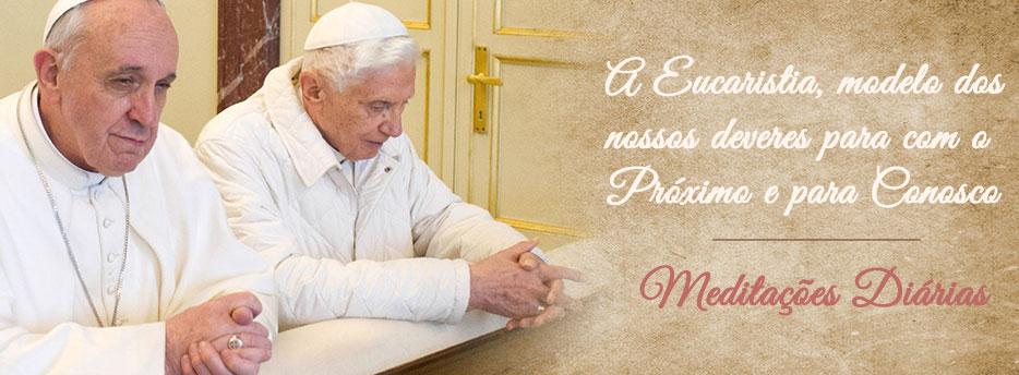 Meditação para o 2º Domingo depois do Pentecostes. A Eucaristia, modelo dos nossos deveres para com o Próximo e para Conosco