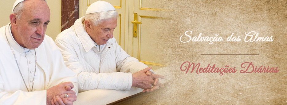 Meditação para o 3º Domingo depois do Pentecostes. Salvação das Almas