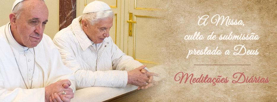Meditação para a Terceira Terça-feira depois de Pentecostes. A Missa, culto de submissão prestado a Deus