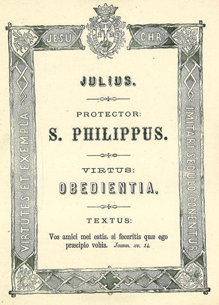 Mês de Julho: A Virtude da Obediência. Apóstolo Patrono: São Filipe