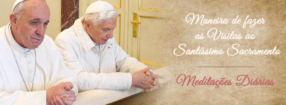 Meditação para a Quinta Quarta-feira depois de Pentecostes. Maneira de fazer as Visitas ao Santíssimo Sacramento