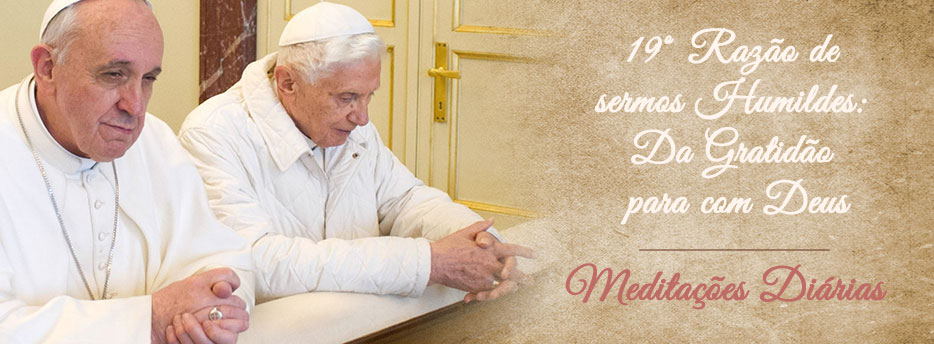 Meditação para a Décima Segunda Segunda-feira depois de Pentecostes. Da Gratidão para com Deus