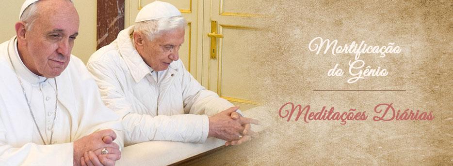 Meditação para a Décima Sexta Quarta-feira depois de Pentecostes. Mortificação do Gênio