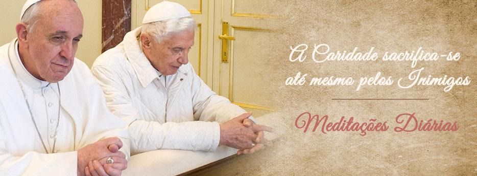 Meditação para a Vigésima Segunda Segunda-feira depois de Pentecostes. A Caridade sacrifica-se até mesmo pelos Inimigos