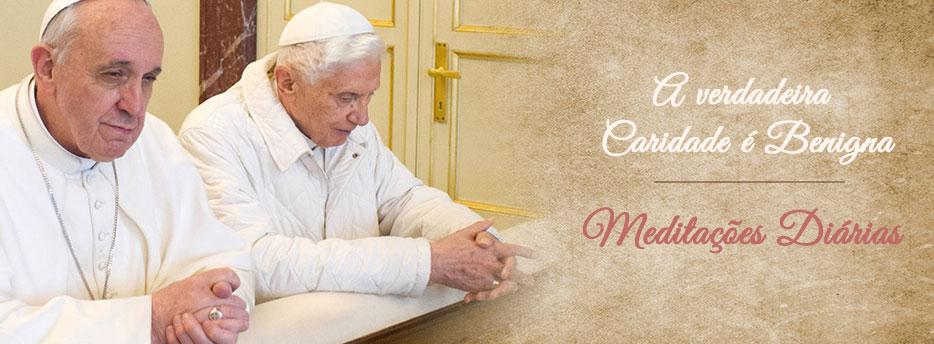 Meditação para a Vigésima Primeira Sexta-feira depois de Pentecostes. A verdadeira Caridade é Benigna