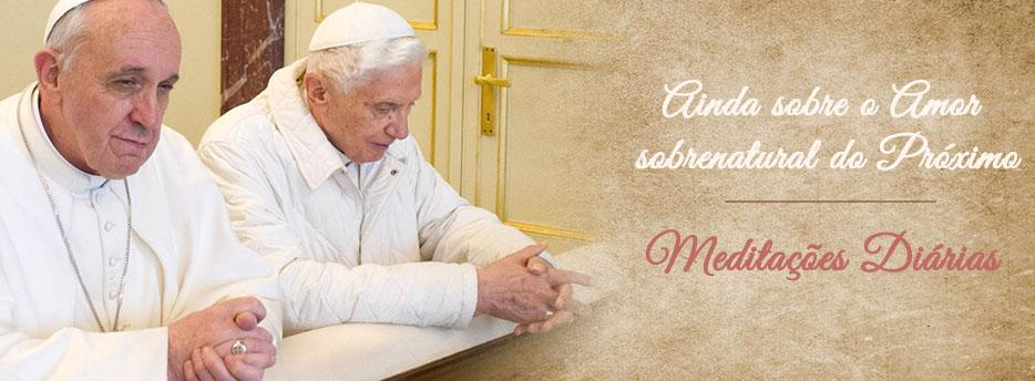 Meditação para a Vigésima Primeira Quinta-feira depois de Pentecostes. Ainda sobre o Amor sobrenatural do Próximo