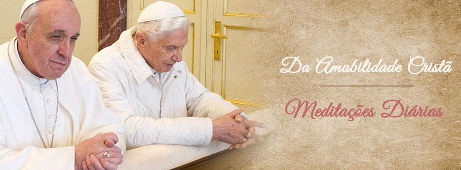 Meditação para o Vigésimo Segundo Sábado depois de Pentecostes. Da Amabilidade Cristã