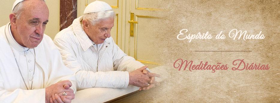 Meditação para a Vigésima Quarta Segunda-feira depois de Pentecostes. Espírito do Mundo