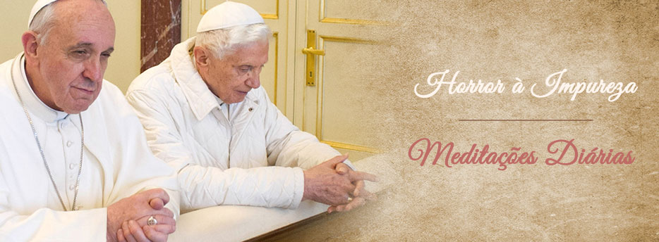 Meditação para a Vigésima Terceira Quinta-feira depois de Pentecostes. Horror à Impureza