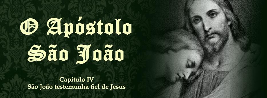 Capítulo 4: São João testemunha fiel de Jesus