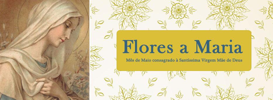 Flores a Maria ou Mês de Maio consagrado à Santíssima Virgem Mãe de Deus