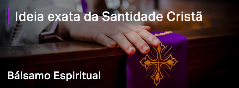 Capítulo 6. Ideia exata da Santidade Cristã - Bálsamo Espiritual