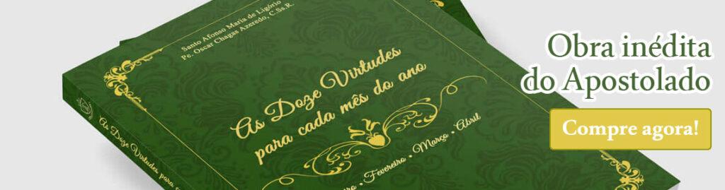 Comprar livro As 12 Virtudes para cada mês do ano, de Santo Afonso